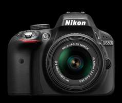 Brand new Nikon D3300 at shop with warranty,free delivery