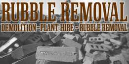Gib rubble removal and garden refuse