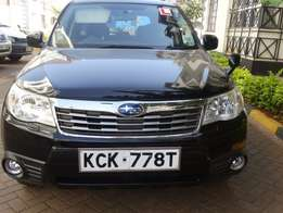 2010 Foreign Used Forester, 2.0 X Black Petrol for sale - KSh1,850,000