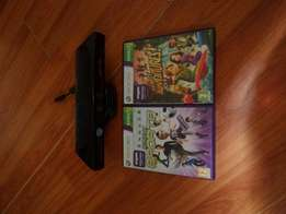 Kinect with 2 games R700