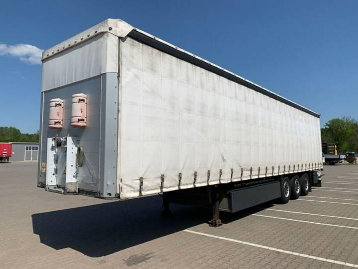 Schmitz Cargobull S01 Liftachse Palettenkasten Deutsches Fahrzeug - 2010