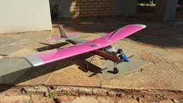 RC Trainer plane with Bits and Bobs Starters etc.