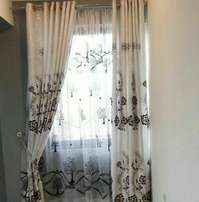 Ready made curtains with matching sheer at 900/- only
