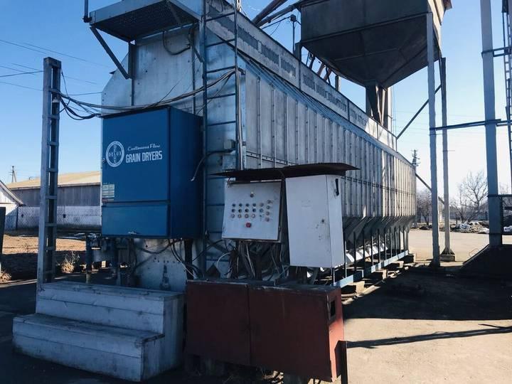 ZERNOSUShILKA DELUX    500t/dobu, idealniy stan grain dryer