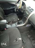 Clean Toyota corolla for sale.