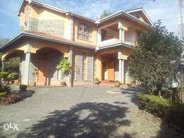 5 bedroom house on 1/4 acre for rent in nkoroi rongai