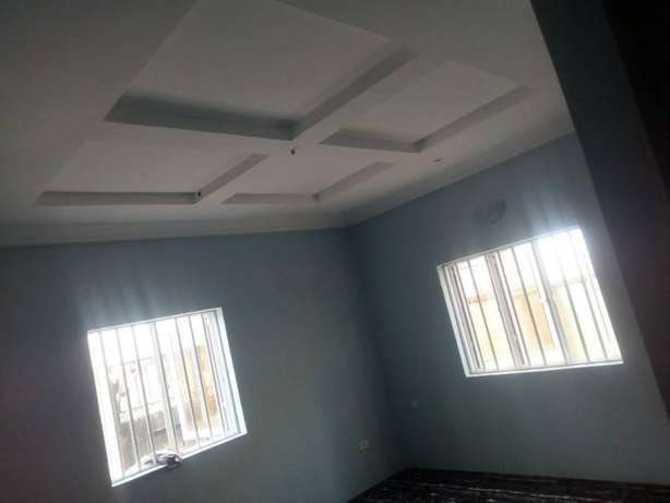 Lovely Newly built 3 bedroom flat all round tiles floor pop at Baruwa Alimosho - image 3