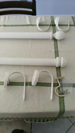 Curtian railing with tie backs Kloof - image 1