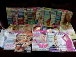 Magazines Here's Health set of 26