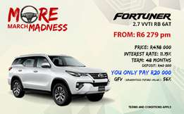 Toyota Fortuner 2.7 VVTI RB 6AT