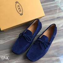 New Blue Tods Loafers shoe for men