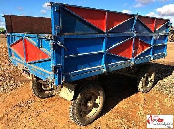 Trailer Remolque Agrícola Tractor
