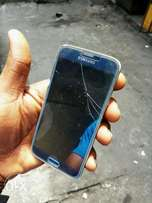 Samsung galaxy s5 fingerprint with a very small crack