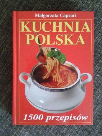 Kuchnia Polska 1500 Przepisów M Caprari Nowa Białystok