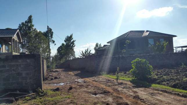 1/4 acre or 100 by 100 plot in Kikuyu Gikambura at 4.8m negotiable. Kabete - image 5