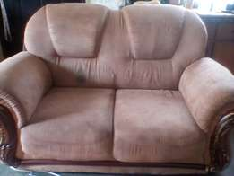 2seater beige couch