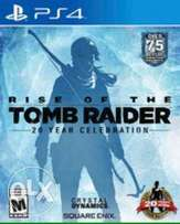 ps4 the rise of tomb raider