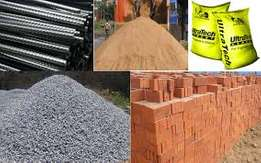 Variety of building Materials for sale and a very competative price.