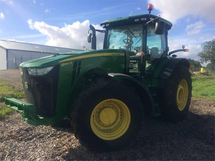 John Deere 8360r Ap Traktor - 2012