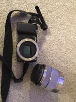 Sony 14.2-megapixel Digital Camera with 18-55mm lens for sale