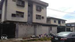 Two Story building of 4 bed room on 6 flats all rooms ensuit at Igando