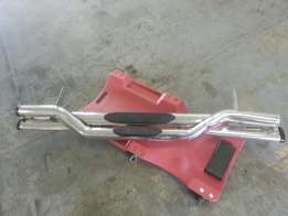 Toyota hilux rear steps stainless