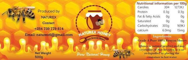 Pure honey with combs and without.. Nairobi CBD - image 1