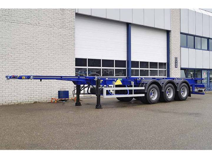Diversen GRÜNWALD VCST HD 3 AXLE CONTAINER TRAILER (2 units)