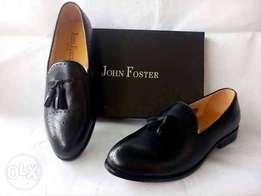 Brand New Burcless Black John Foster Shoe