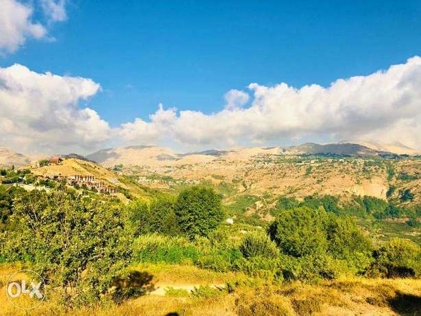 Land in Fakra (AHLAM village) with MOUNTAINS VIEW أرض في فقرا ٣٣٠٠ م ٢ فقرا -  7