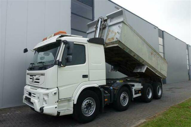 Volvo FMX 500 8X4 FULL STEEL I SHIFT HUBREDUCTION EURO - 2011