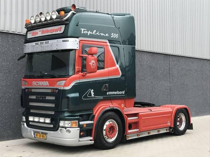 Scania R500 Manual Retarder Full air suspension NL Truck Special !! - 2008