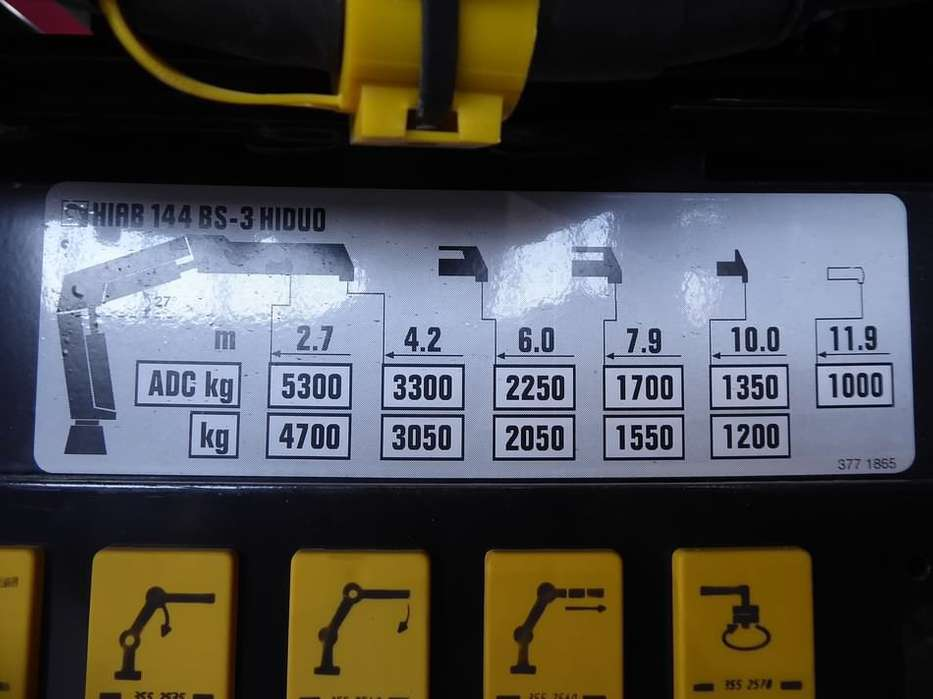 Mercedes-Benz ACTROS 2632 hiab 144bs3,remote,d - 2008 - image 14