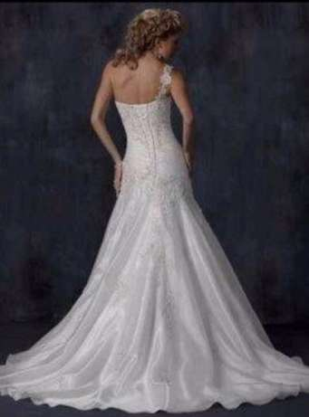 Maggie Sottero Designer imported wedding gown for sale West Rand - image 3