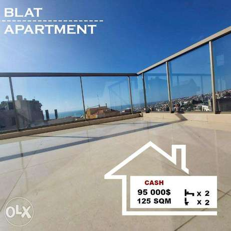 Blat Sea View apartment for sale 125 SQM REF#BJ16013