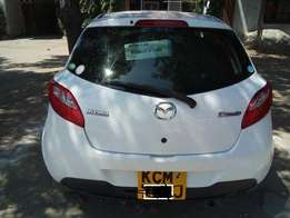 A newly imported Mazda demio KCM