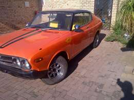 Datsun 160u sss coupe paperwork in order