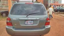 Tokunbo Toyota Highlander 2004 model