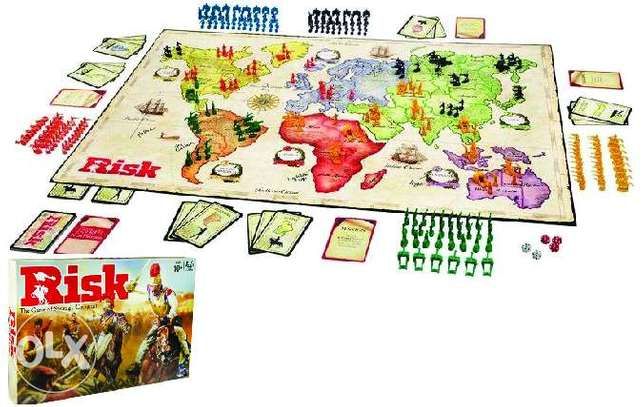 Brand New Risk Strategy Board Game