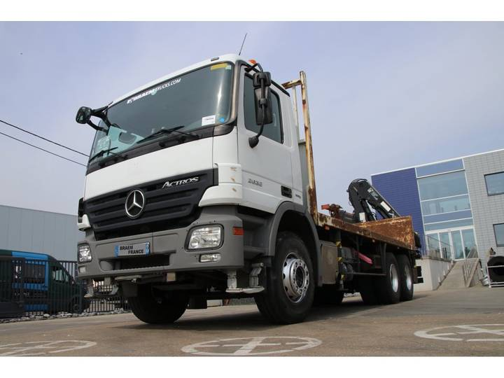 Mercedes-Benz ACTROS 2632 + HIAB XS 166 BS3 - 2008