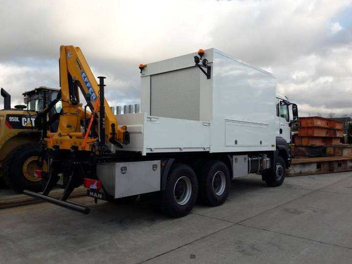 MAN 33.400 6x6 Servicetruck - 2017