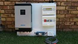 Solar Mecer Inverter fully wired on panel Plug and play