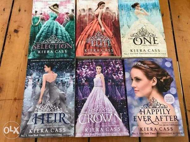 The Selection Series 8 books