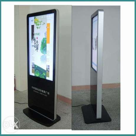 Interactive display ADS touch screens