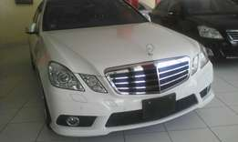 Mercedes Benz E250 AMG edition with double sunroof