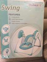Barely used Mamalove Baby Swing (Indoors)