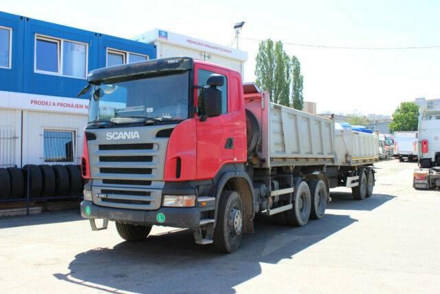 Scania R 420 CB 6X4 - 2008