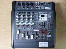 Leem LFX-4D 4-Channel 200W Powered Mixing Console Mixer