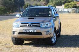 2009 Toyota Fortuner D-4D 4x4 in Immaculate condition!