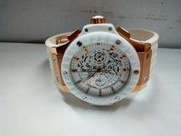 Hublot Unico Ceramic White